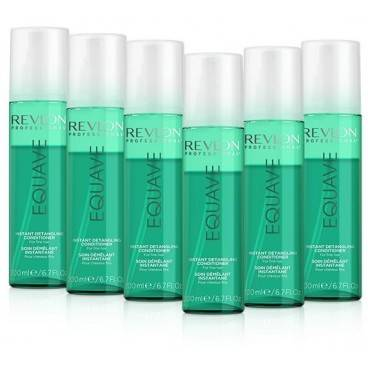REVLON Pack 6 Sprays Revlon Equave Cheveux Fins 200 ML