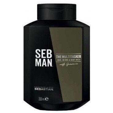 Sebman Gel nettoyant corps cheveux et barbe The Multi-Tasker SEBMAN 250ML