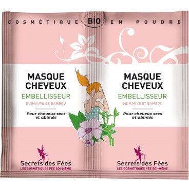 Secrets des Fées Masque cheveux embellisseur bio SECRETS DES FEES 2x16g