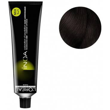 L'Oréal Professionnel Coloration Inoa n°4.15 châtain cendré marron 60ML