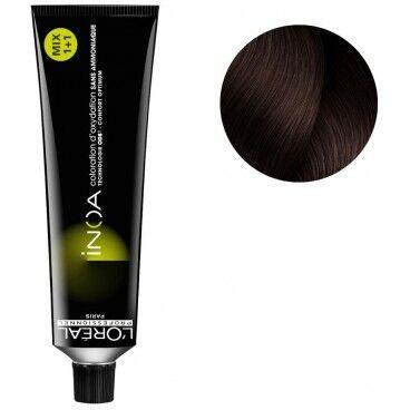 L'Oréal Professionnel Coloration Inoa High Resist n°5.25 châtain clair irisé acajou 60ML