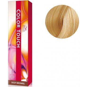 Wella Coloration Color Touch Deep browns n°10/73 blond très très clair marron doré Wella 60ML