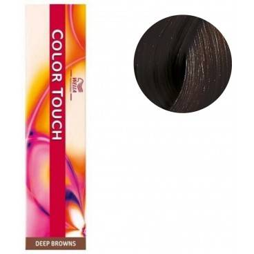 Wella Coloration Color Touch Deep browns n°4/71 châtain marron froid Wella 60ML