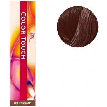 Wella Coloration Color Touch Deep browns n°6/75 blond foncé marron acajou Wella 60ML