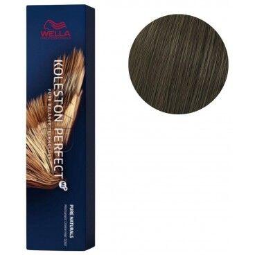 Wella Coloration Koleston Perfect ME+ Pure Naturals n°55/02 châtain clair intense naturel mat Wella 60ML