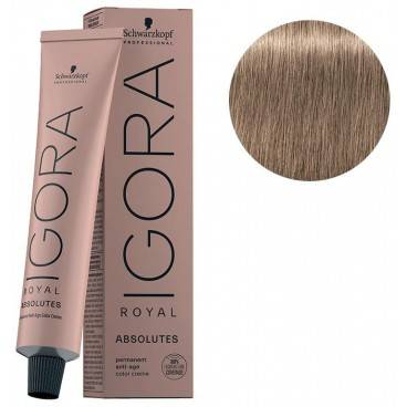 Schwarzkopf Igora Royal Absolutes 8-01 Blond clair naturel cendré 60 ML