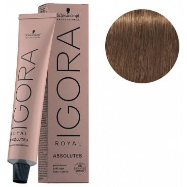 Schwarzkopf Igora Royal Absolutes 7-60 Blond Moyen Marron Naturel 60 ML