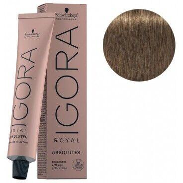 Schwarzkopf Igora Royal Absolutes 7-50 Blond Moyen Doré Naturel 60 ML
