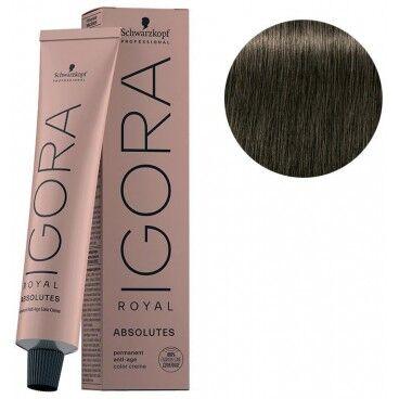 Schwarzkopf Igora Royal Absolutes 7-10 Blond Moyen Cendré Naturel