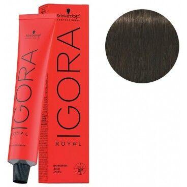 Schwarzkopf Coloration Igora Royal 5-00 châtain clair naturel 60ML