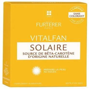 René Furterer Compléments alimentaires Solaire 1 mois Vitalfan René Furterer