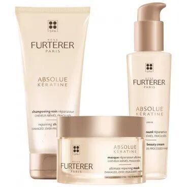 René Furterer Trio réparateur shampooing + masque + crème Absolue Keratine René Furterer