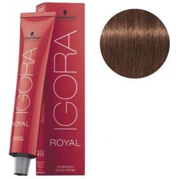 Schwarzkopf Coloration Igora Royal 6-6 blond foncé marron 60ML