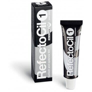 RefectoCil Teinture cils & sourcils Noir Profond n°1 RefectoCil 15ml