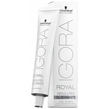 Schwarzkopf Igora Royal Absolutes Silver White Gris acier 60 ML