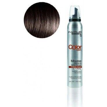 ShopHair Mousse colorante Formul Pro Chatain Moyen 200 ML