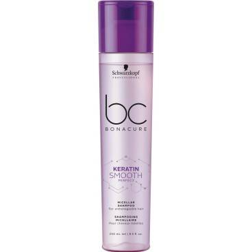 Schwarzkopf Shampoing Micellaire BC Kératin Smooth Perfect 250ML