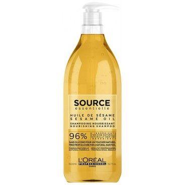 L'Oréal Professionnel Shampooing Fleurs de Jasmin et Huile de sésame Source Essentielle 1.5L
