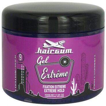 Hairgum Gel Coiffant Fixation Extrême Hairgum 500g