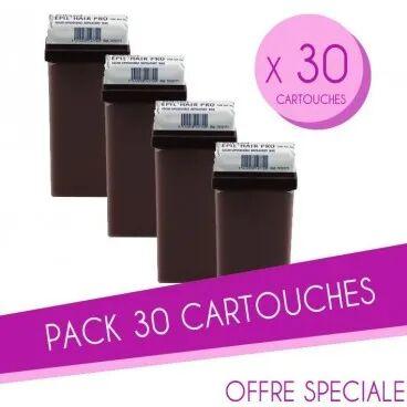 Sibel Pack 30 Cartouches cire 100 ML Chocolat