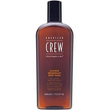 American Crew Gel Douche American Crew 24H Deodorant Body Wash 450ml