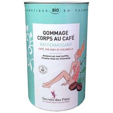 Secrets des Fées Gommage corps au café raffermissant bio SECRETS DES FEES 200g