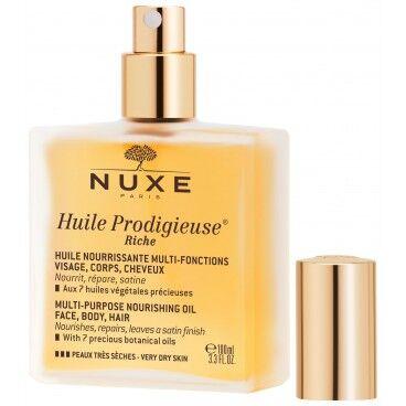 Nuxe Huile Prodigieuse® riche visage, corps & cheveux Nuxe 100ML