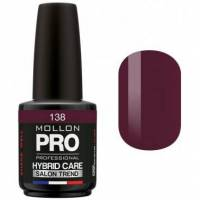 Mollon Pro Vernis Semi-permanent Hybrid Care Mollon Pro 15ml Bernadette - 138 <br /><b>19.68 EUR</b> Beauty coiffure
