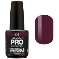 Mollon Pro Vernis Semi-permanent Hybrid Care Mollon Pro 15ml Bernadette - 138 <br /><b>19.68 EUR</b> Beauty coiffure