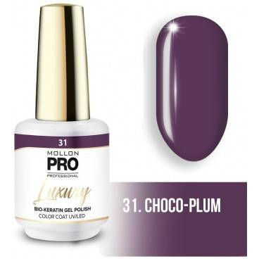Mollon Pro Vernis semi-permanent LUXURY N°31 Prune Mollon Pro - 8ML