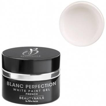 Beauty Nails Gel french 5g Blanc perfection paint Beauty Nails G266P-28