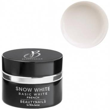 Beauty Nails Gel french 5g Snow white blanc laiteux Beauty Nails