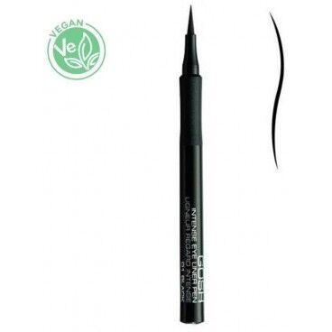 Gosh Copenhagen Eyeliner semi-permanent n°01 Noir - Intense Eye Liner Pen GOSH