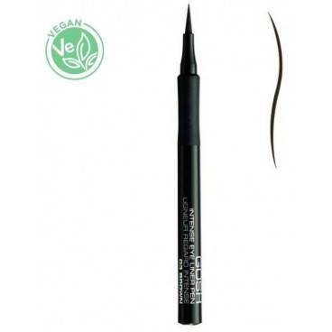 Gosh Copenhagen Eyeliner semi-permanent n°03 Marron - Intense Eye Liner Pen GOSH