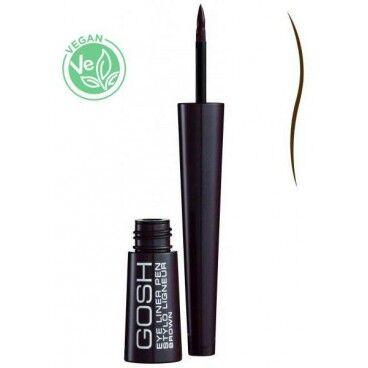 Gosh Copenhagen Crayon Eyeliner liquide marron GOSH 2.5ML