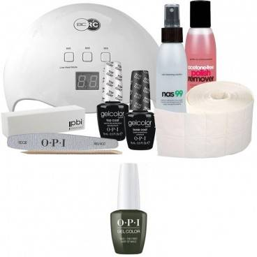 OPI Pack Semi-permanent OPI + Lampe 48 watts OPI Vernis Gel Color Suzi - The First Lady of Nails 15 ml