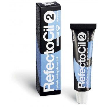 RefectoCil Teinture cils & sourcils Bleu Noir n°2 RefectoCil 15ml
