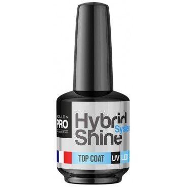 Mollon Pro Mini Top Coat Vernis semi-permanent hybrid Shine 8ml