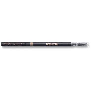 RefectoCil Crayon à sourcils avec brosse teinte n°01 Marron clair RefectoCil