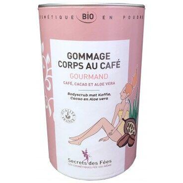 Secrets des Fées Gommage corps au café Gourmand bio SECRETS DES FEES 200g
