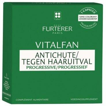 René Furterer Compléments alimentaires antichute progressive 1 mois Vitalfan René Furterer