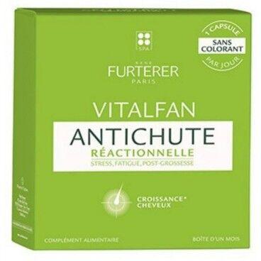 René Furterer Compléments alimentaires antichute réactionnelle 1 mois Vitalfan René Furterer
