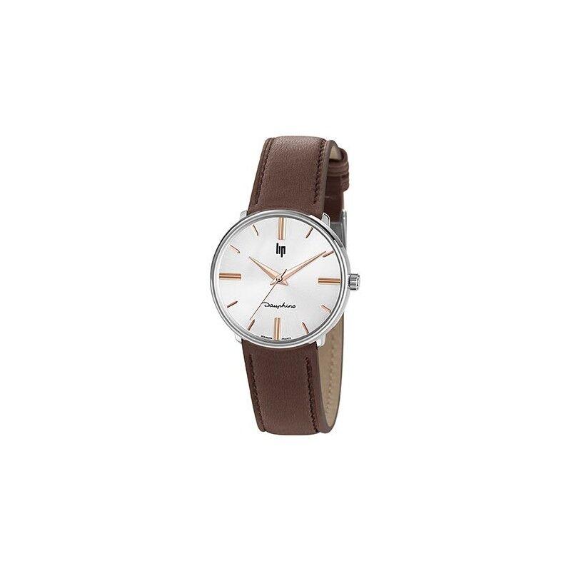LIP Dauphine 34 Montre Unisexe Bracelet Marron-671922