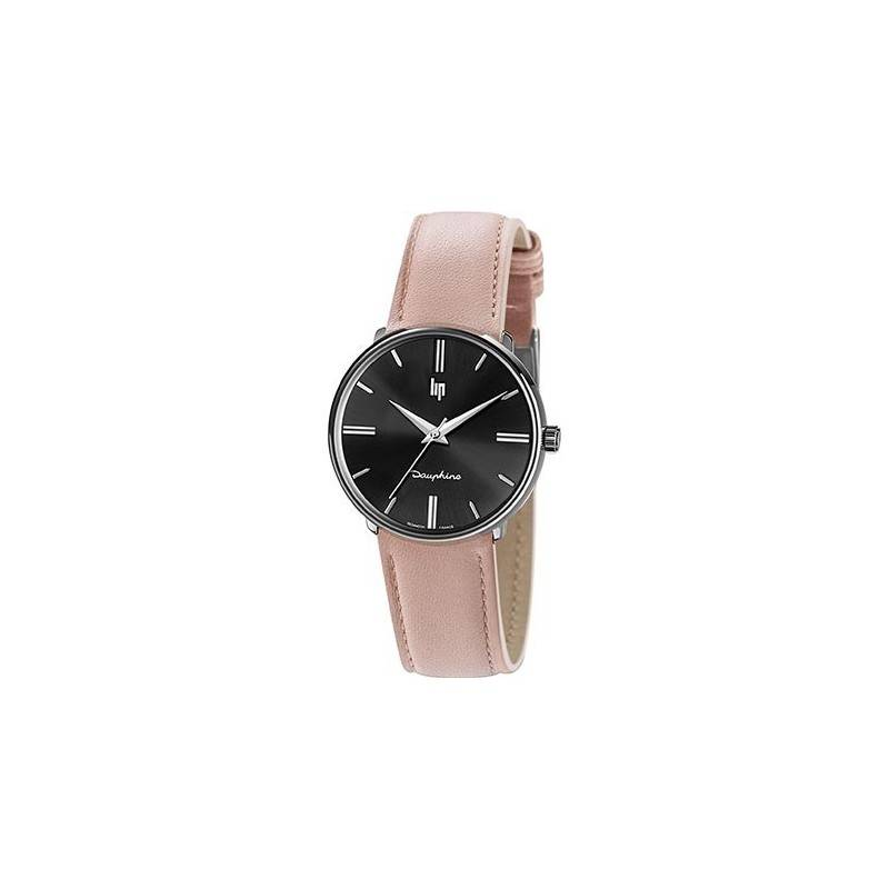 LIP Dauphine 34 Montre Unisexe Bracelet Rose-671924