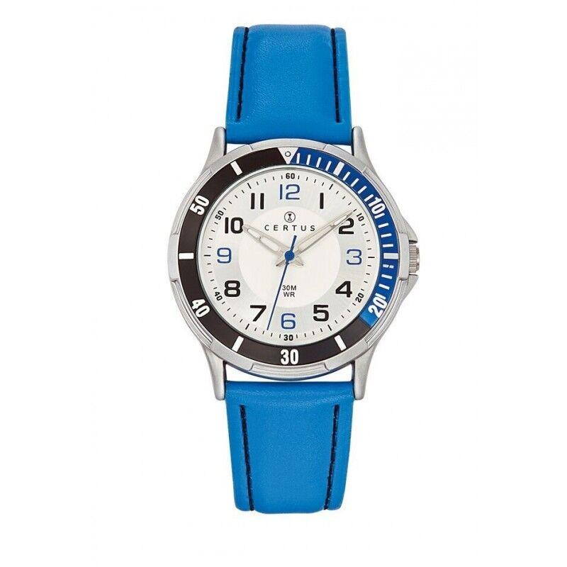 Certus Montre Enfant Cuir Synthétique Bleu 647523