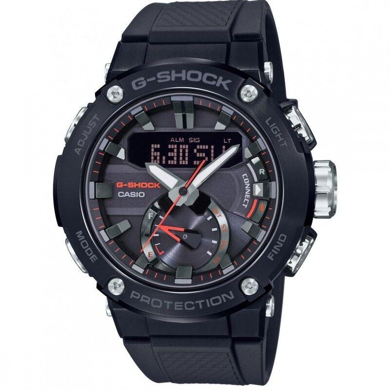 Casio Montre Homme G-Shock G-Steel Bluetooth Résine Noir GST-B200B-1AER
