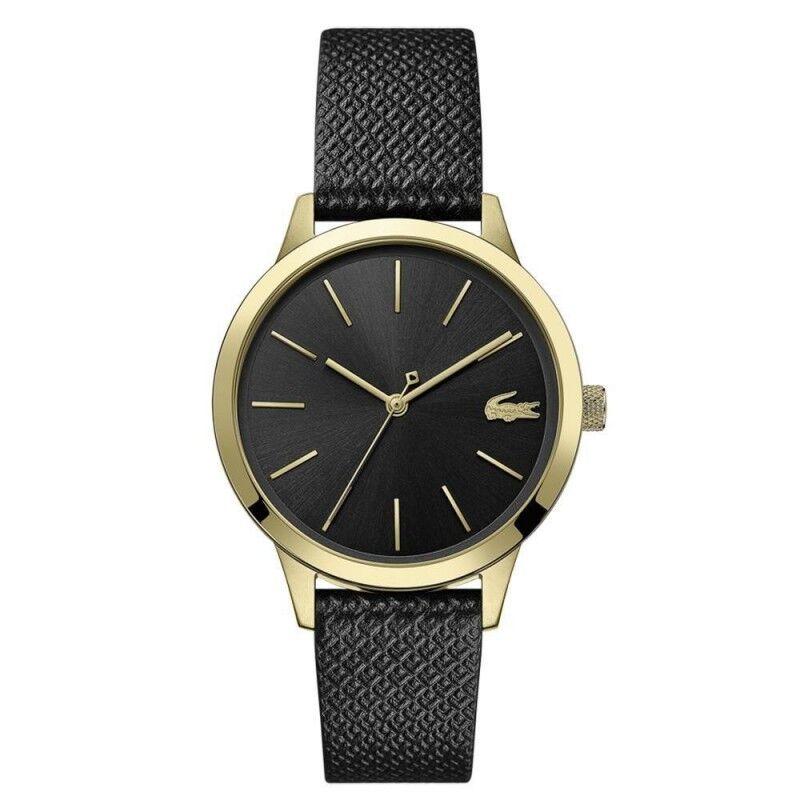 Lacoste 12.12 Premium Montre Femme Cuir Noir 2001090