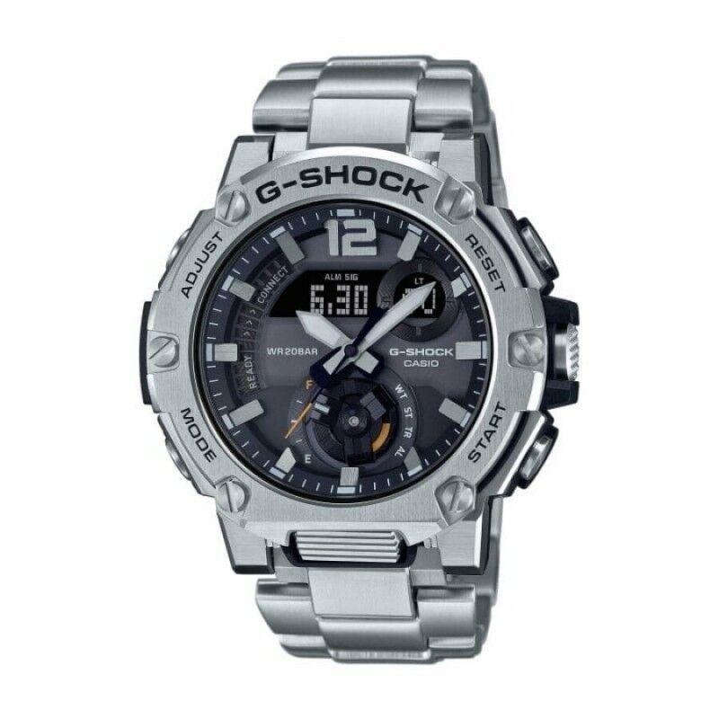 Casio G-Shock G-Steel Montre Homme Bluetooth Acier GST-B300E-5AER