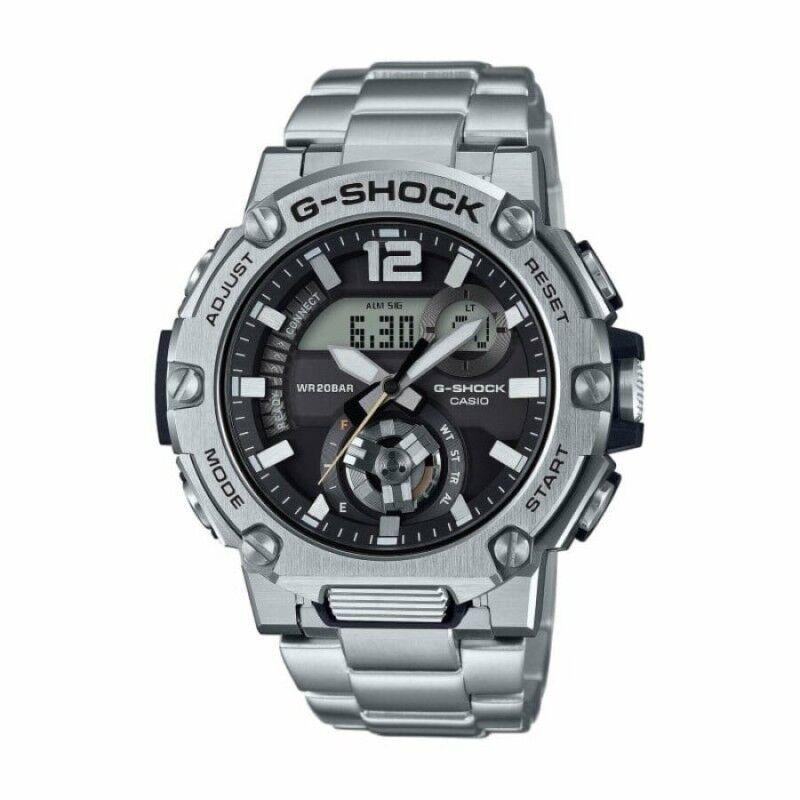 Casio G-Shock G-Steel Montre Homme Bluetooth Acier GST-B300SD-1AER