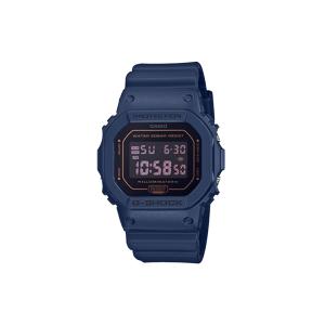 Casio G-Shock Montre Homme Résine Bleue DW5600BBM-2ER - Publicité